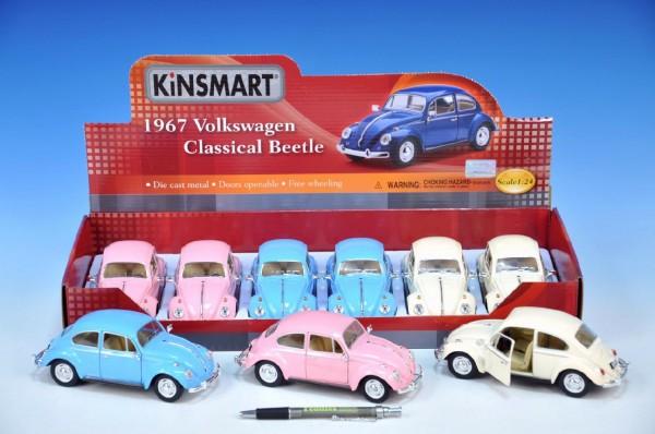 Auto Kinsmart VW Classical Beetle 1967 kov