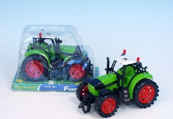 Traktor na setrvačník