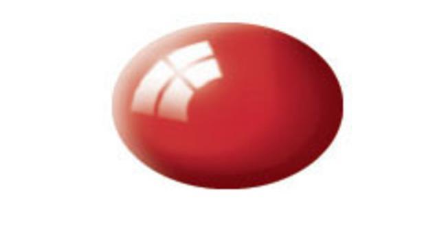 Barva Revell aqua lesklá - ohnivě červená 31  * *