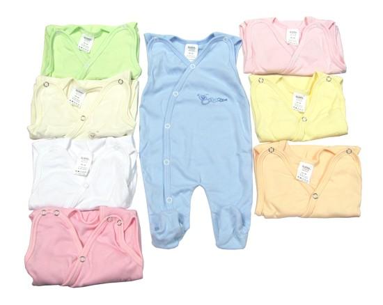 Oblečení pro předčasně narozené děti - Dupačky vel.44