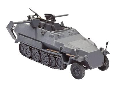 Slepovací model Revell 1:72 - Německý obrněný kolopásový transportér Sd.Kfz. 251/16 Ausf. C *