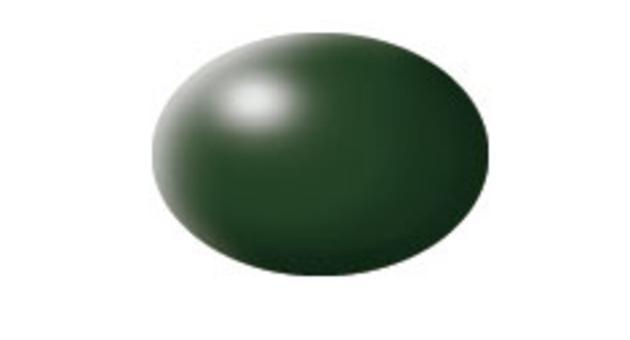 Barva Revell aqua polomatná - tmavě zelená 363 * *