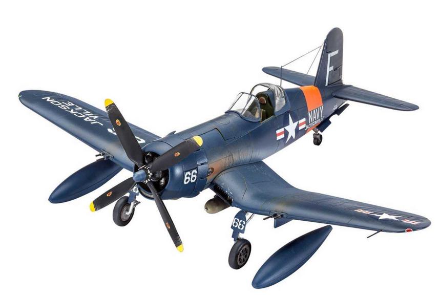 Slepovací model Revell 1:72 F4U-4 Corsair *