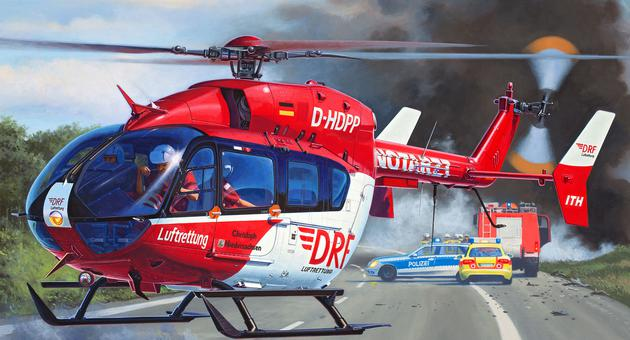 Slepovací model Revell 1:32 Eurocopter EC145 DRF *