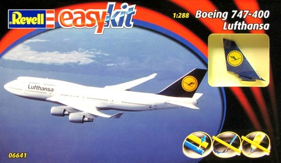 Model Easykit Revell 1:288 Boeing 747-400 Lufthansa *
