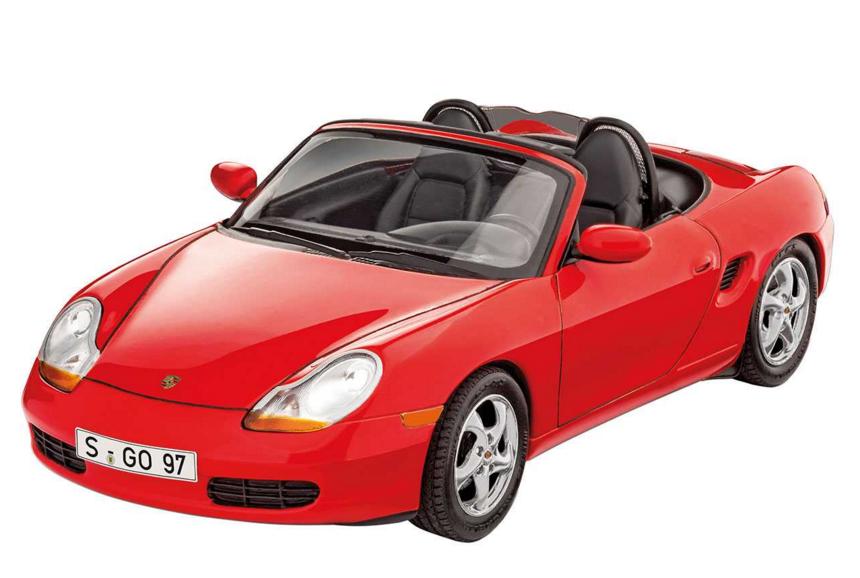 Slepovací model Revell 1:24 Porsche Boxter *