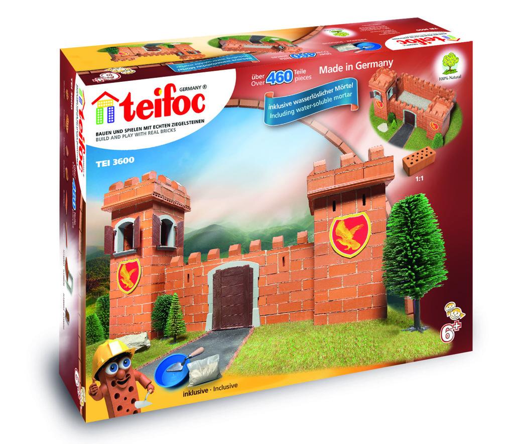 Rytířský hrad Teifoc * *