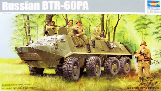 Slepovací model Trumpeter 1:35 Russian BTR-6OPA *