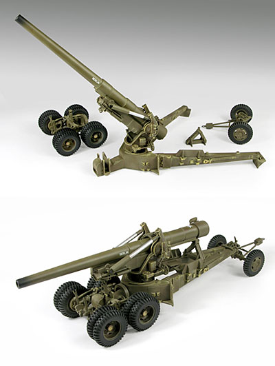 Model Kit 1:32 U.S. M59 155mm Long Tom
