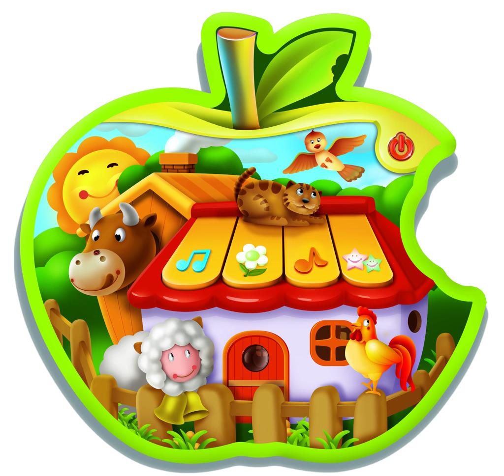 Dětský tablet - jablíčko * *