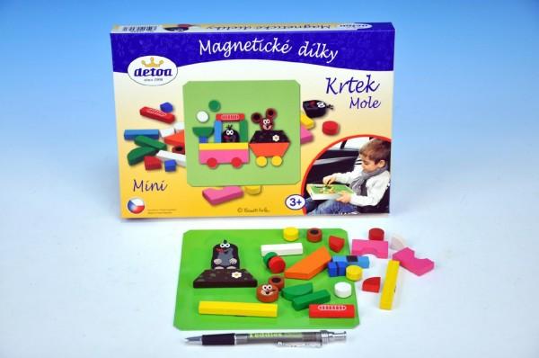 Magnetické puzzle Krtek