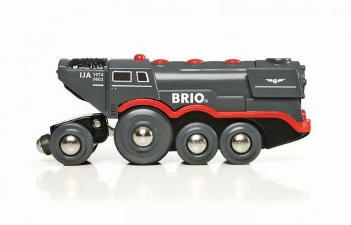 Speciální kolekce - Velká elektrická parní lokomotiva na dřevěnou vláčkodráhu * *