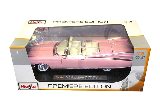 Kovový model Maisto 1:18 - Cadillac Eldorado * *