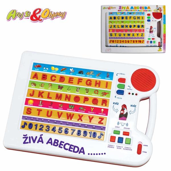 Živá abeceda - elektronická naučná hra