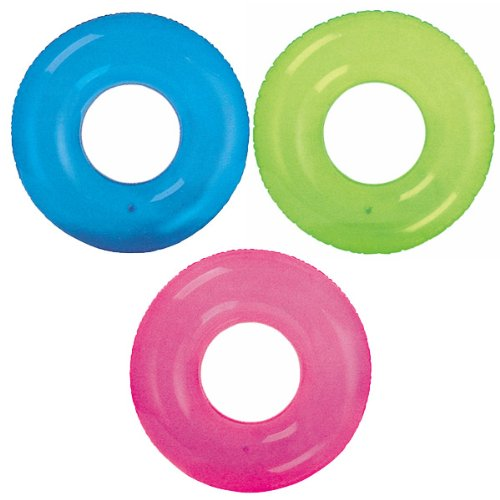 Nafukovací kruh jednobarevný 76cm INTEX 59260