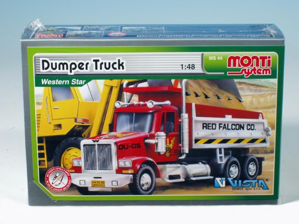 Monti 44 Dumper Truck Western star