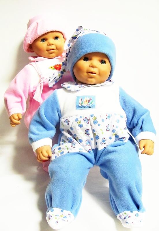 Česká panenka  60 cm - miminko holka (v sáčku)*