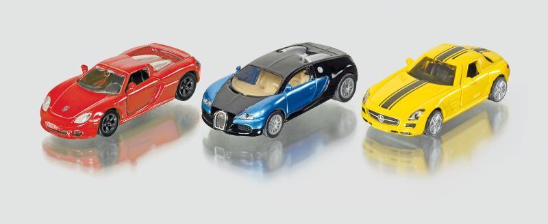 Siku Super - Dárková sada 3 sportovních aut * *