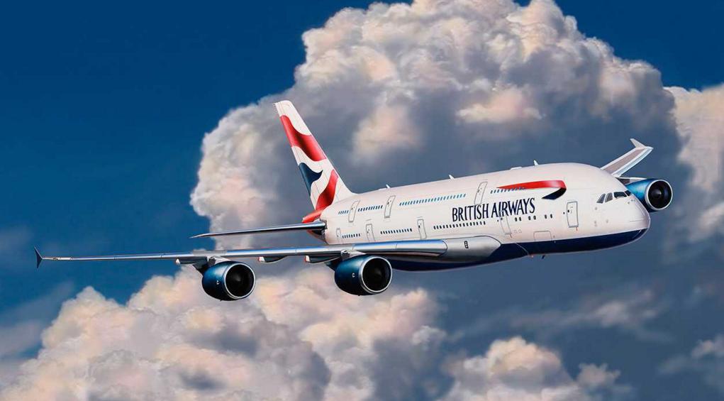 Model Easykit Revell 1:288 Airbus A380 British Airways *