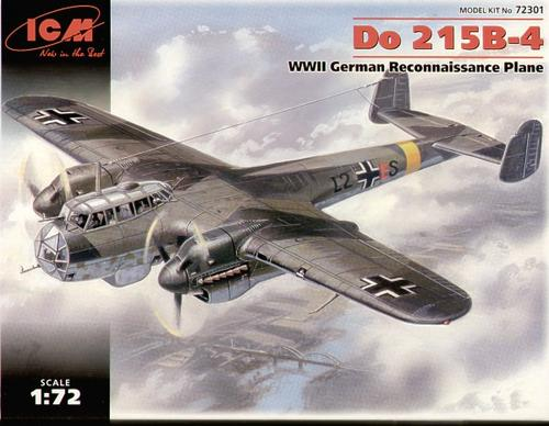 Slepovací model ICM 1/72 - Letadlo Dornier 215 B-4 *