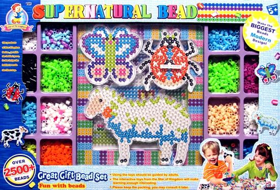 Zažehlovací mozaika velká 2500 korálků - zvířátka