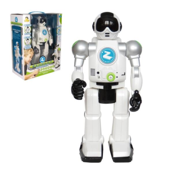 Robot Zigy s funkcí rozpoznání hlasu a IR dálkovým ovládáním * *