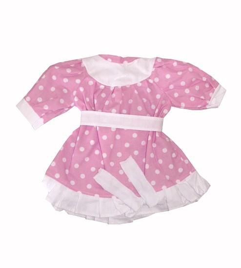 Oblečení pro panenky hamiro 60cm šaty různé varianty a barvy