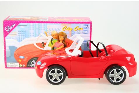 Nábytek Glorie pro panenky Babie - Auto červené *