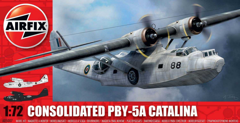 Slepovací model Airfix 1:72 Consolidated PBY-5A Catalina *