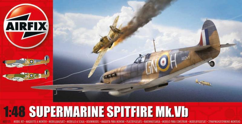 Slepovací model Airfix 1:48 Supermarine Spitfire MkVB *