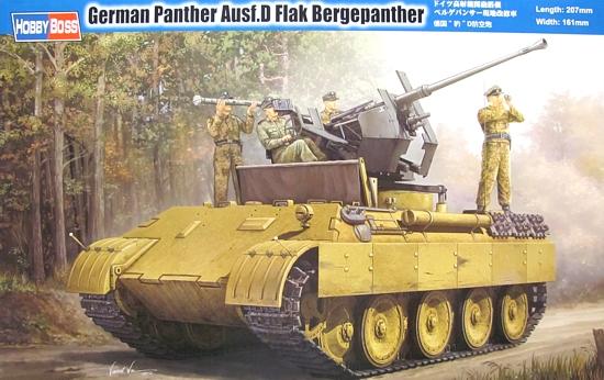 Slepovací model Hobby Boss 1:35 Německé pásové vozidlo protiletecké obrany Panther Ausf.D *