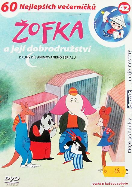 Pohádky na DVD - Žofka a její dobrodužství (42)