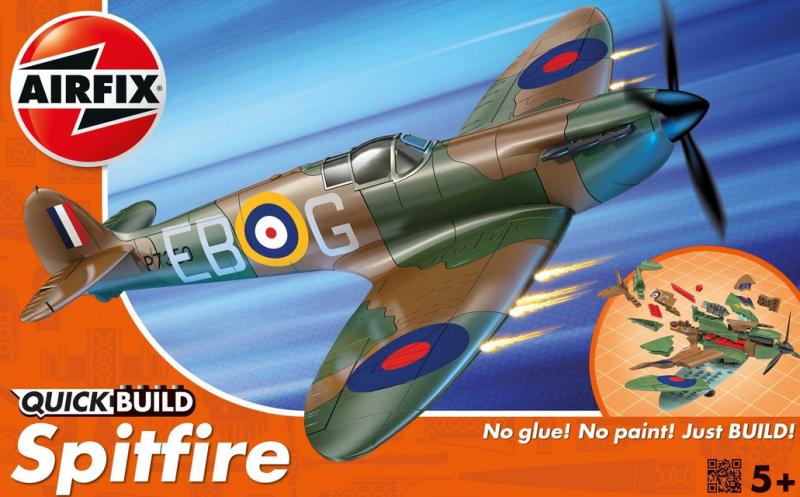 Zacvakávací model Airfix Supermarine Spitfire *