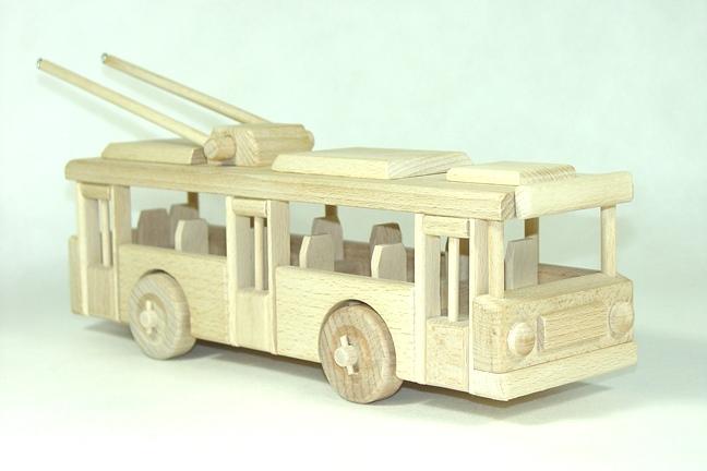 Dřevěný trolejbus