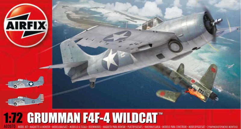 Slepovací model Airfix 1:72 Grumman Wildcat F4F-4 *