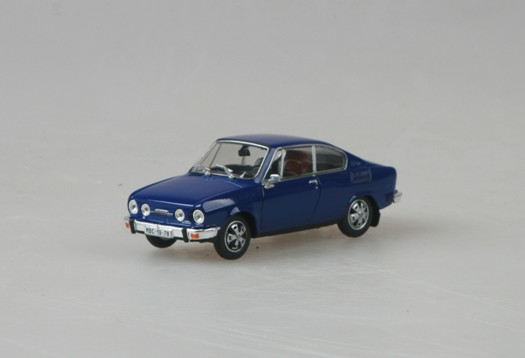 Model Abrex 1:43 Škoda 110R 1978 Sapphire Blue * *