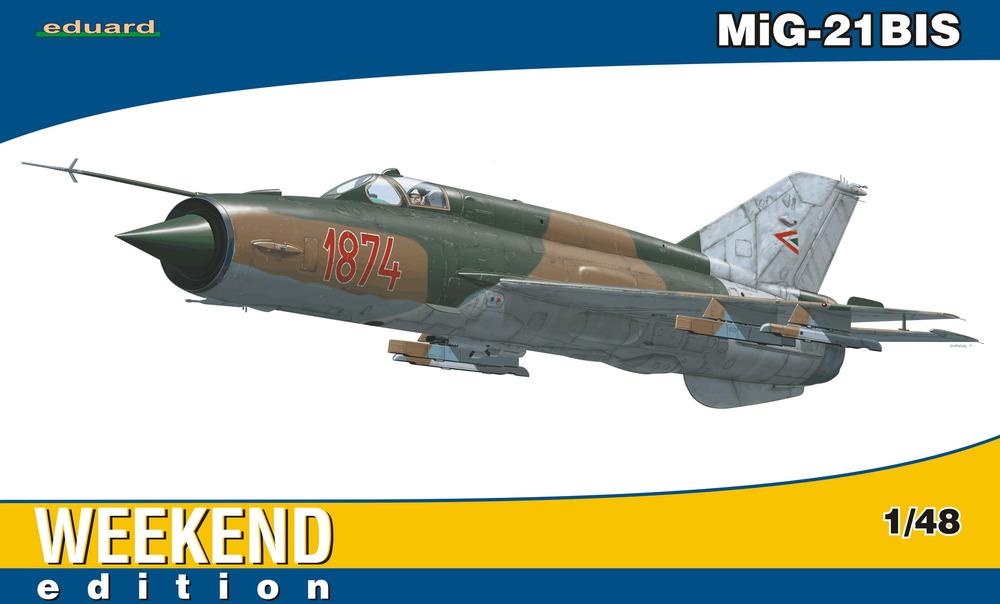 Slepovací model Eduard 1:48 stíhač MiG-21BIS * *