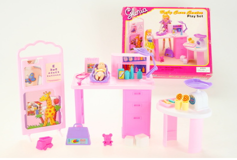 Nábytek Glorie pro panenky Barbie - Ordinace *