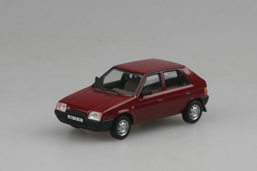 Model Abrex 1:43 Škoda Favorit 1987 Red Apollo * *