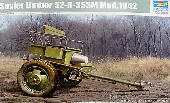 Slepovací model Trumpeter 1:35 Soviet Limber 52-R-353M Mod. 1942 *
