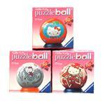 3 D PUZZLE kulaté  60 dílů - Hello Kitty různé druhy *