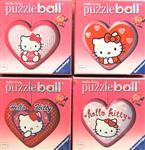 3 D PUZZLE srdíčko 60 dílů - Hello Kitty různé druhy *