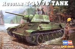 MODEL Hobby Boss 1:48 Russian T34/76 1943 No.112 (84808)